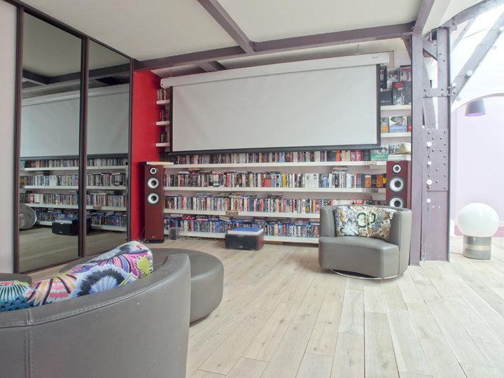le loft belleville. Black Bedroom Furniture Sets. Home Design Ideas